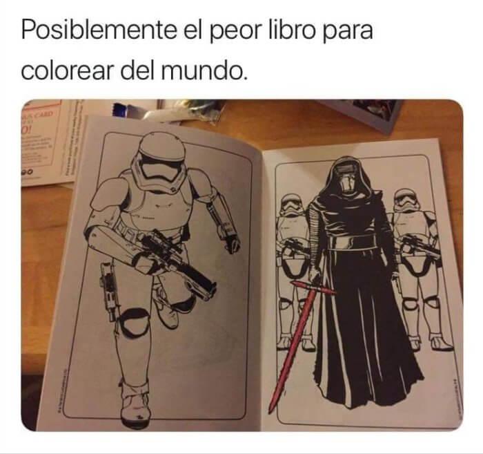 El peor libro para colorear