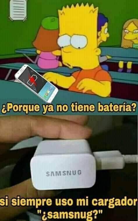 Porque no tienes bateria