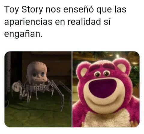 Toy Story nos enseño