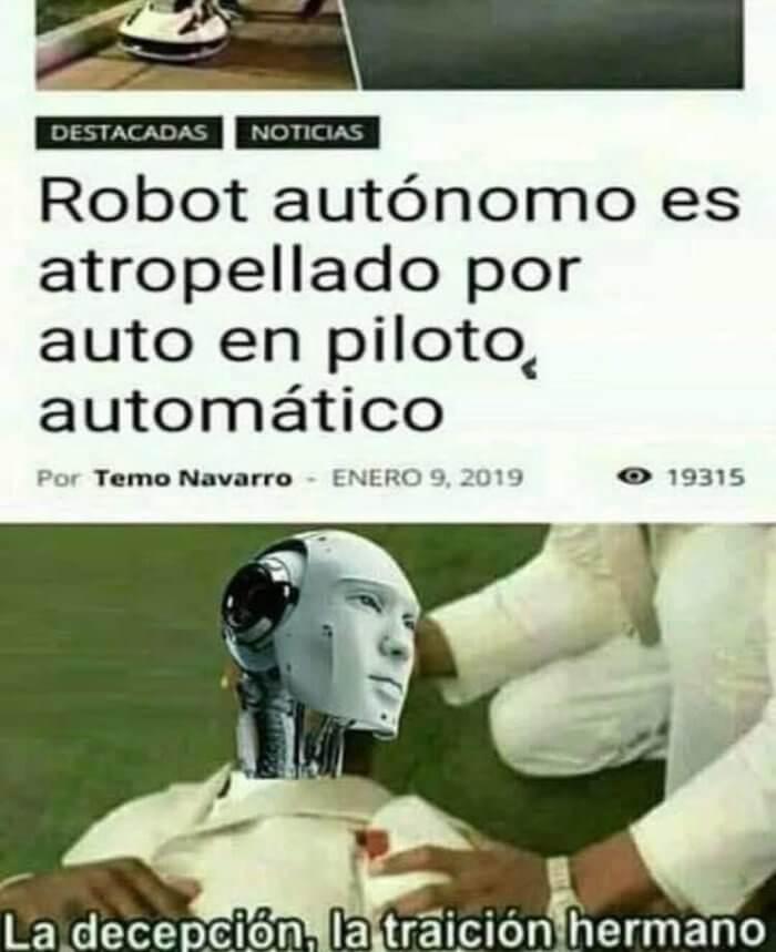 Traiciones entre robots
