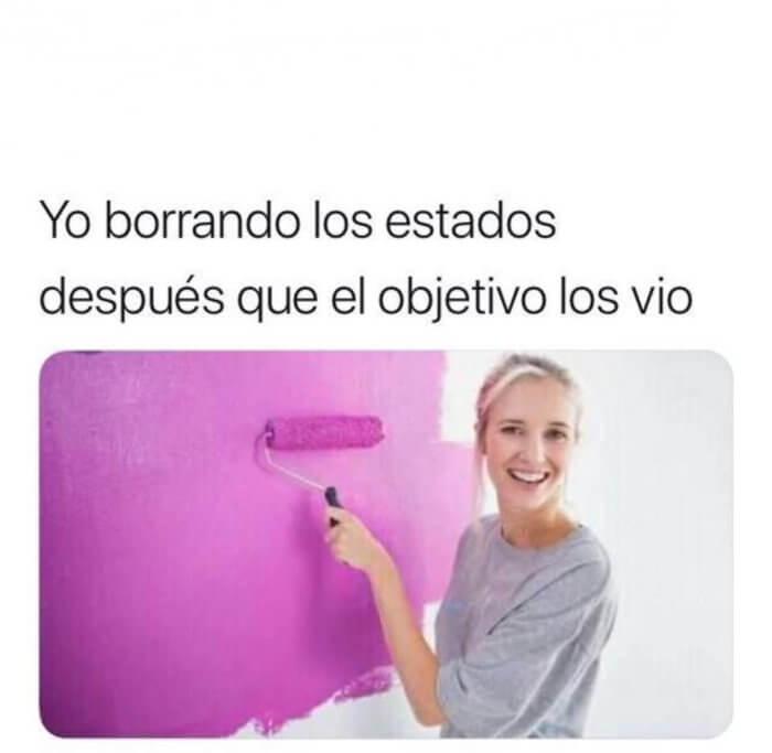 Yo borrando estados