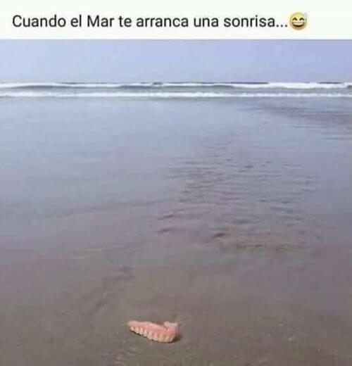 Cuando el mar te aranca una sonrisa