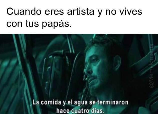 Cuando eres artista