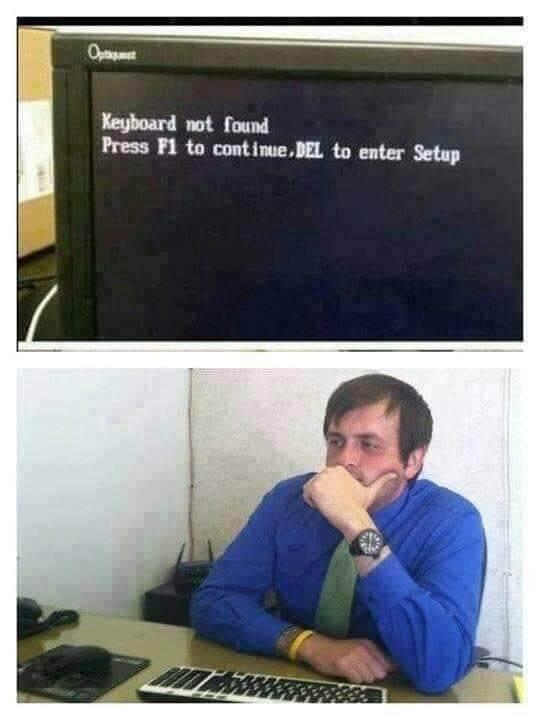 El teclado no funciona