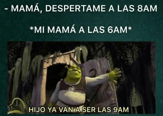 Cuando pides que te despierten temprano