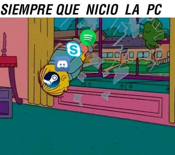 Cuando prendo el PC
