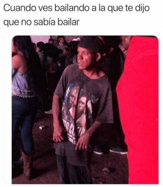 Cuando ves bailando