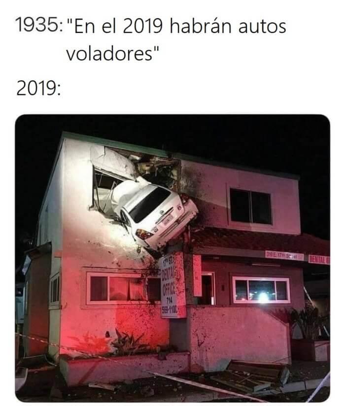 En 2019 habran autos voladores