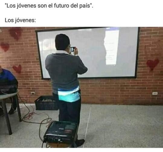 Los jovenes son el futuro