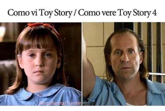 Como vi Toy Story