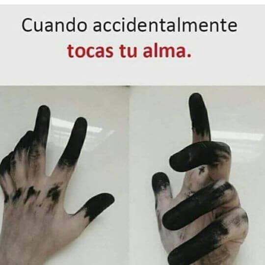 Cuando por accidente tocas tu alma