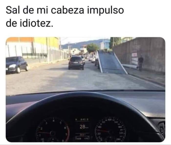 El impulso de idiotez