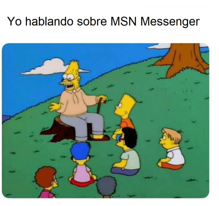 Hablando sobre MSN