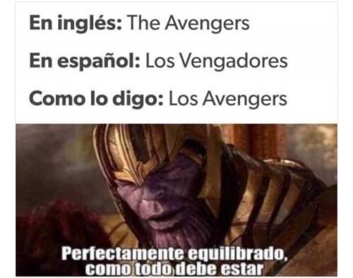 Perfectamente equilibrado