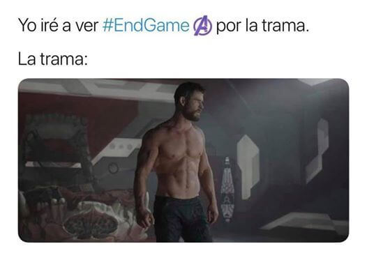 Porque ir a ver End Game