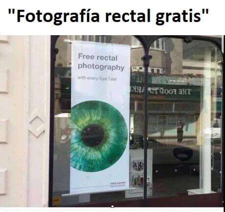 Fotografia rectal