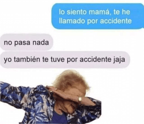 Por accidente