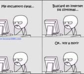 Buscando tus síntomas por Internet