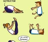 Cuando vas por primera vez a una clase de yoga