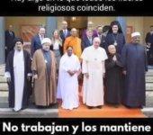 Todas las religiones coinciden en algo