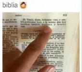 Si lo dice la biblia es mejor hacerle caso