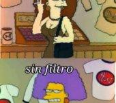 Con filtro vs sin filtro