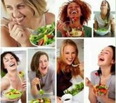 Cuando la ensalada no deja de contar chistes