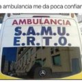 Esta ambulancia no me da confianza