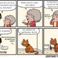 Ayudando a la abuela