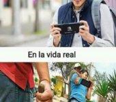 Anuncios vs vida real