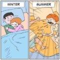 Invierno vs verano