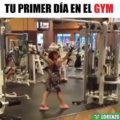 Tu primer día en el gym