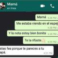 Que piensa mi Madre de mí