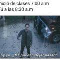 Las clases inician a las 7