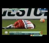 Patadas impunes en el fútbol