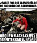 La mayoría de arqueólogos